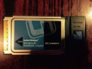 Linksys s Wireless Notebook Adapter for Sale in San Francisco, CA