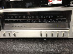 Vintage Fisher Silverface receiver amplifier for Sale in Silver Spring, MD