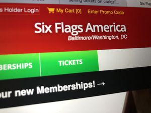 Six Flags America for Sale in Fairfax Station, VA