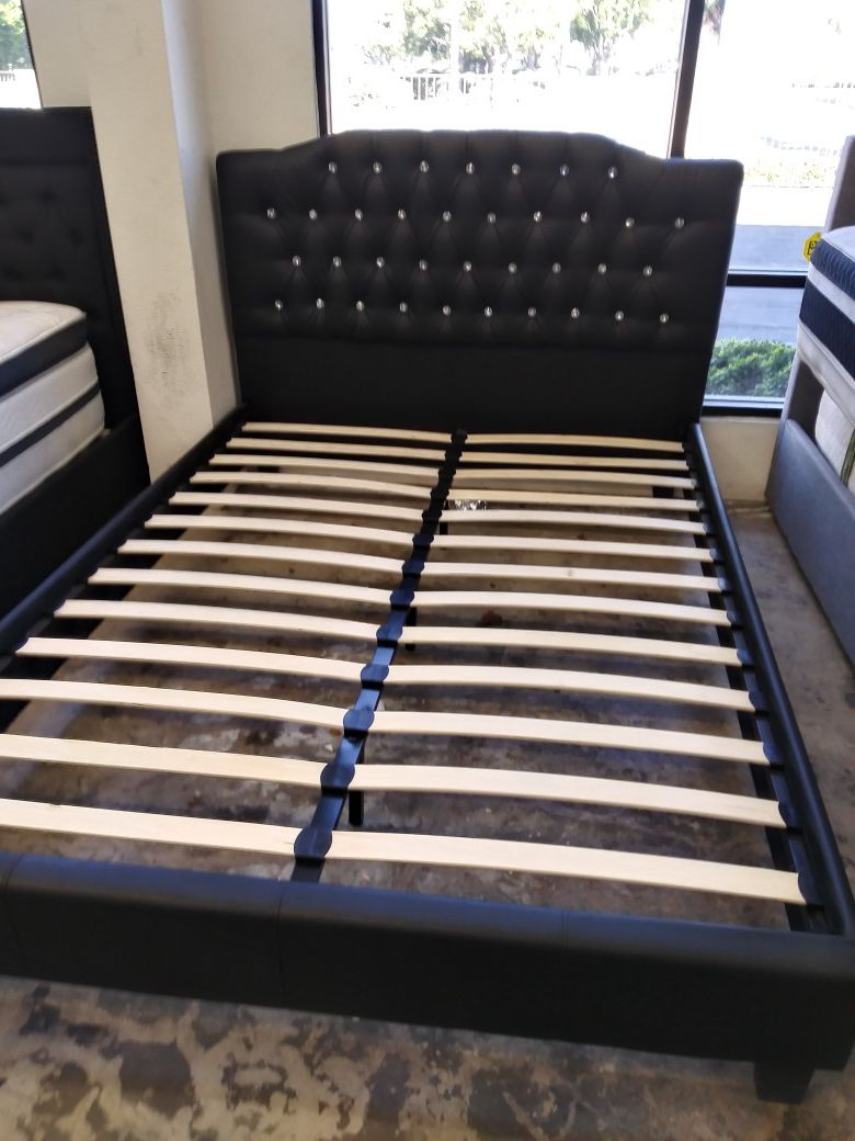 Queen Bed With Mattress Included!