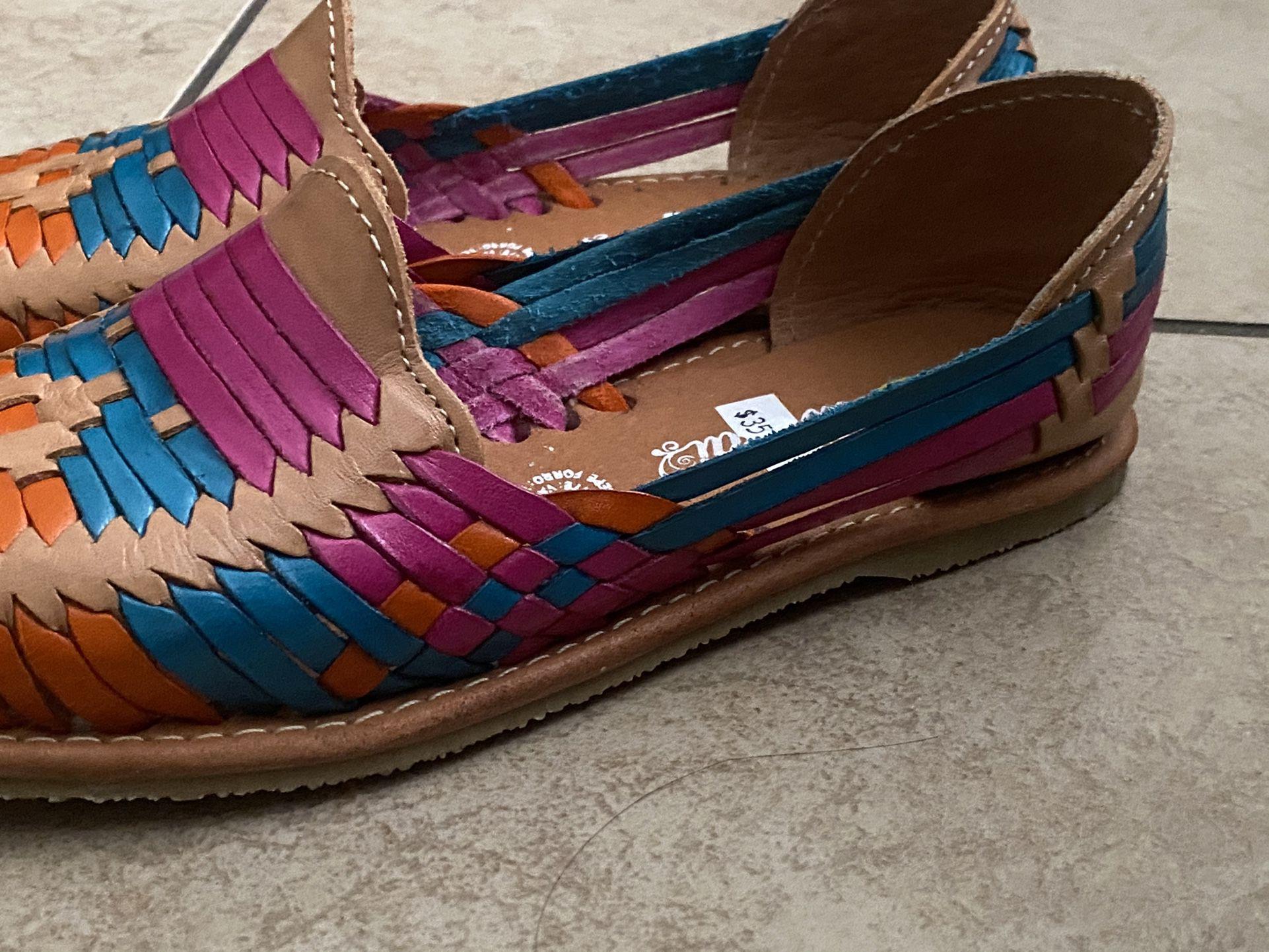 Women Huaraches Multicolor Size 7