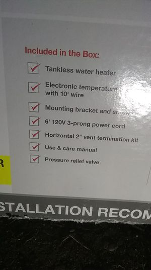 New and Used Water heaters for Sale in Olympia, WA - OfferUp Water Heater Wiring Diagram Three Prong on