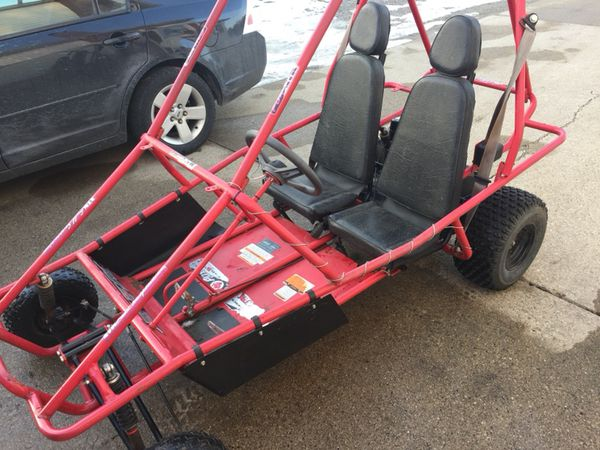 Fox XTK Go Kart Adult 2 Seater 6 5 HP Robin Subaru Engine for Sale in  Perry, MI - OfferUp