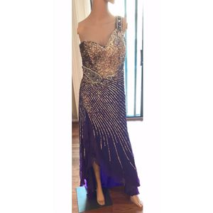 Beautiful One Shoulder Dress with a Slit for Sale in Germantown, MD