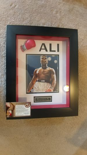 Signed Muhammad Ali with COA for Sale in Clarksburg, MD
