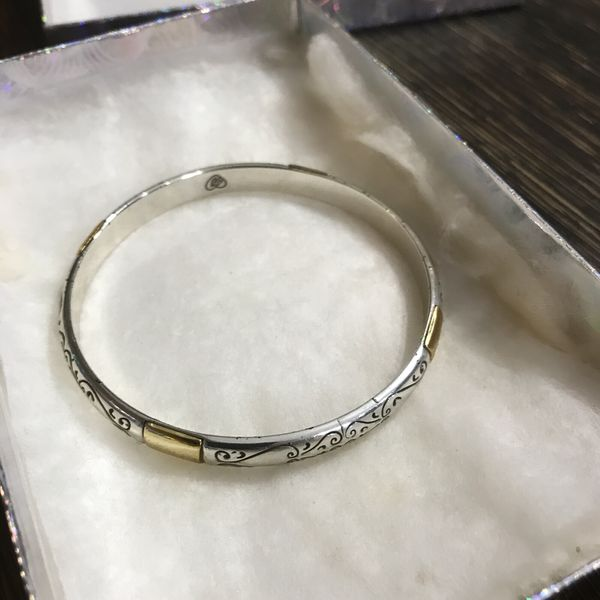 Excellent condition authentic Brighton bangle bracelet $25 firm for Sale in  McAllen, TX - OfferUp