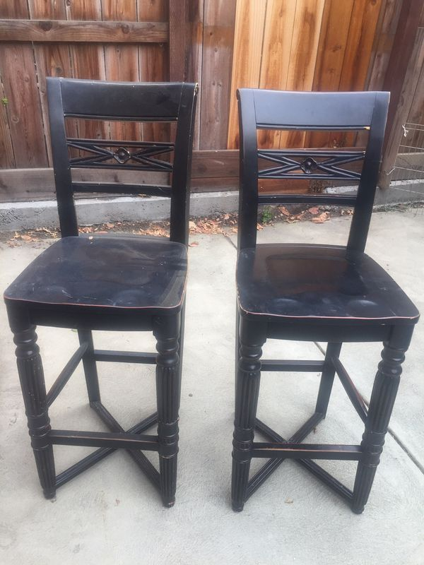 Excellent Pottery Barn Bar Stools 4 Of Them For Sale In Palo Alto Ca Machost Co Dining Chair Design Ideas Machostcouk