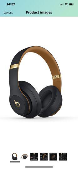 Beats Studio3 Wireless Over-Ear Headphones skyline collection shadow grey Thumbnail