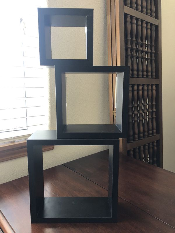 Decorative Wall Cubes Shelves Household In Portland Or Offerup