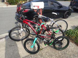 Three Bike bundle for Sale in Milpitas, CA