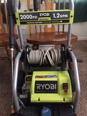 Brand new roybi 2000 psi pressure washer for Sale in Middle River, MD
