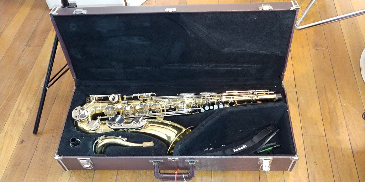 Tenor Saxophone refurbished