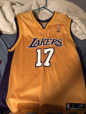 422212cf0263 Reebok Laker Rick Fox Jersey for Sale in Los Angeles