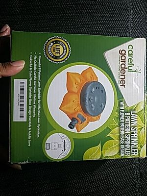 8 pattern lawn sprinkler for Sale in Fairfax, VA