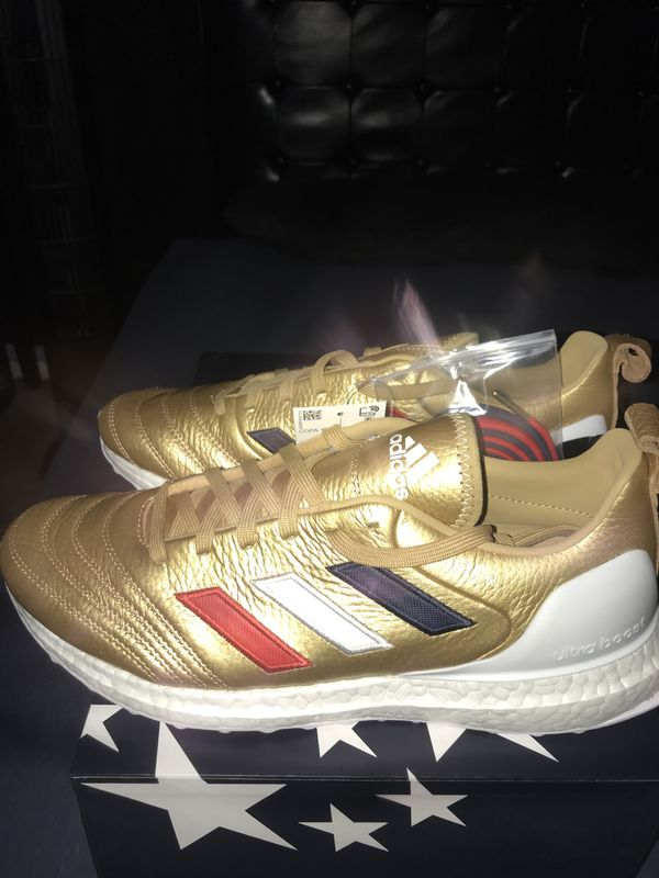 """0ff5ed7a756 Kith x Adidas Copa Mundial 18 Ultraboost """"Golden Goal"""" for Sale in ..."""