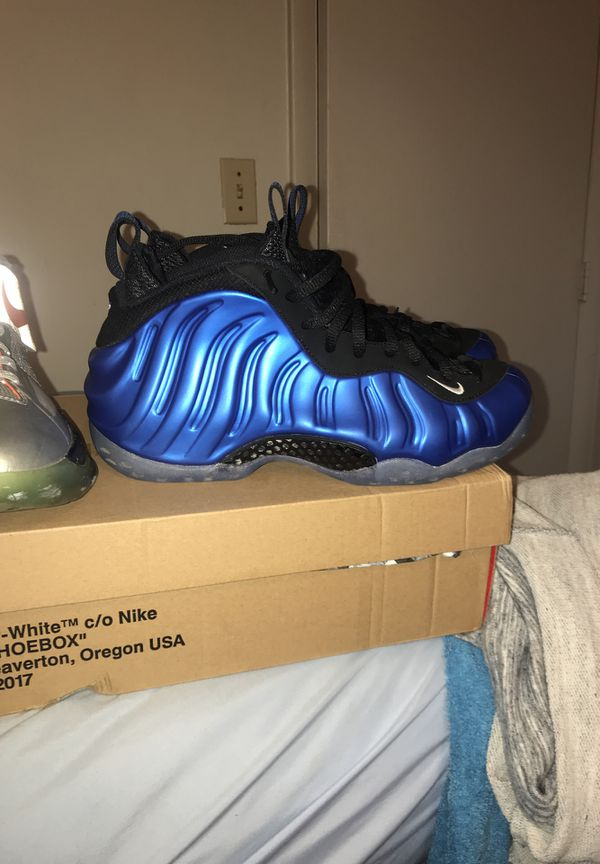 quality design 26b3a 526dc Nike foamposite royal blue for Sale in Norfolk, VA - OfferUp