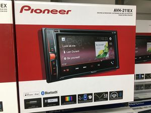 Photo AVH-211EX double din stereo radio cd dvd headunit Bluetooth   PIONEER