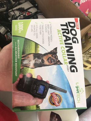 Active dog collar for Sale in Severn, MD