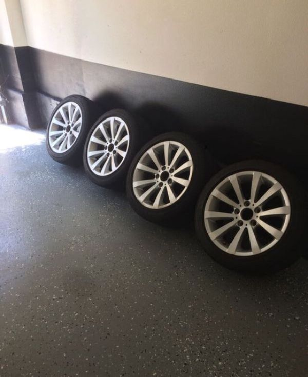 BMW Tires & Rims! Great For An Extra Set! For Sale In