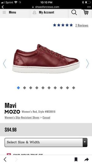 Mozo Safety woman shoes size 7.5 I bought a wrong size for Sale in Alexandria, VA