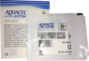 "Box of 4 AQUACEL EXTRA Hydrofiber New and Improved Dressing 2"" x 2"" Ref 420671 for Sale in Chicago, IL"