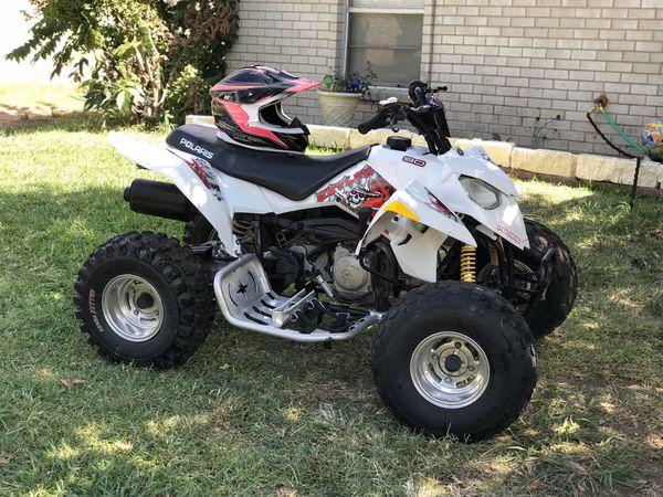 2008 Polaris outlaw 90 atv moto 4 wheeler for Sale in Arlington, TX -  OfferUp