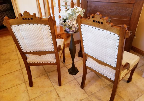 stunning eastlake victorian parlor chairs for sale in ashland oh
