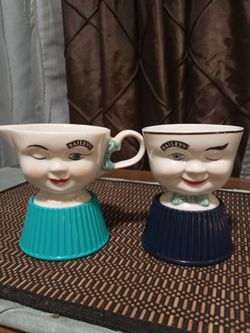 Bailey's Coffee/Tea Cups With Sugar and Creamer dishes Thumbnail