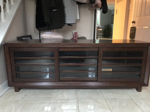 Crate and Barrel Media Console for Sale in Cabin John, MD
