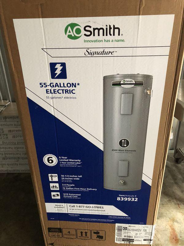 55 gallon water heater. 55 Gallon Water Heater M