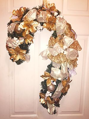 Candy Cane Wreath for Sale in Inwood, WV