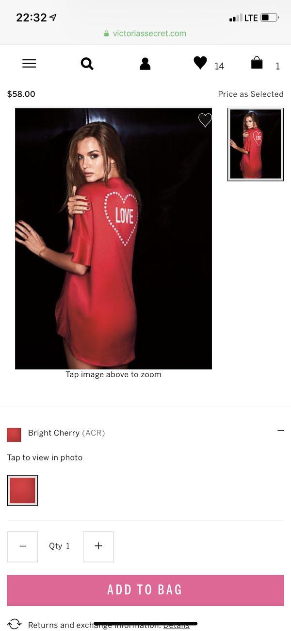 Victoria s Secret Satin Flounce Sleeve Kimono for Sale in Winchester ... 8c5d9a88d