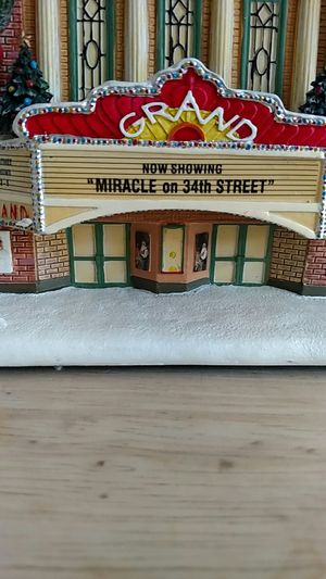Norman Rockwell's Christmas village Grand Theater for Sale in Dale City, VA