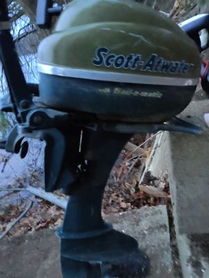 Photo 5hp outboard boat motor