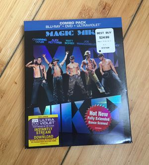 Magic Mike Blu-ray Combo Pack for Sale in Baltimore, MD
