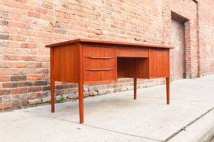 Mid Century Modern Danish Teak Desk for Sale in Fircrest, WA