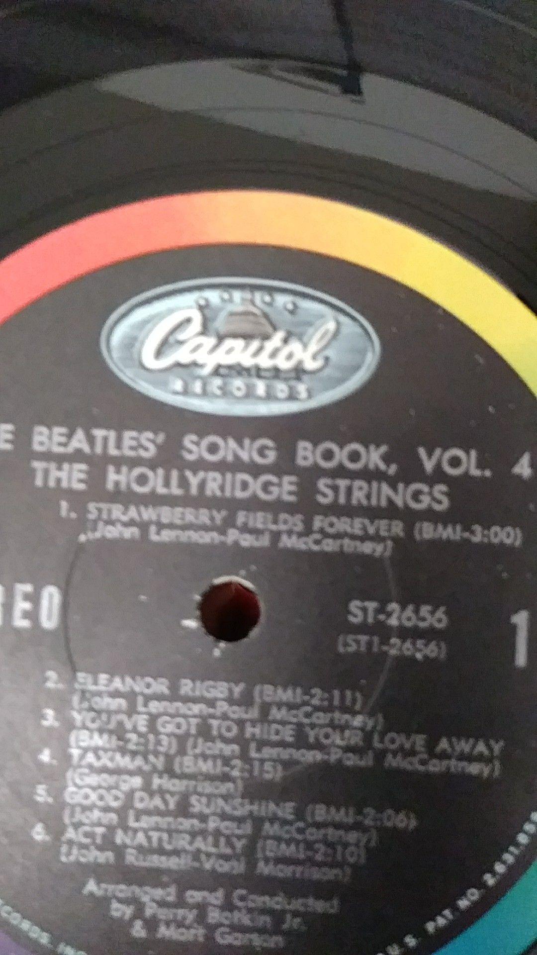 Original L.P (the Beatles..vol.4)..a good piece for collection.$75