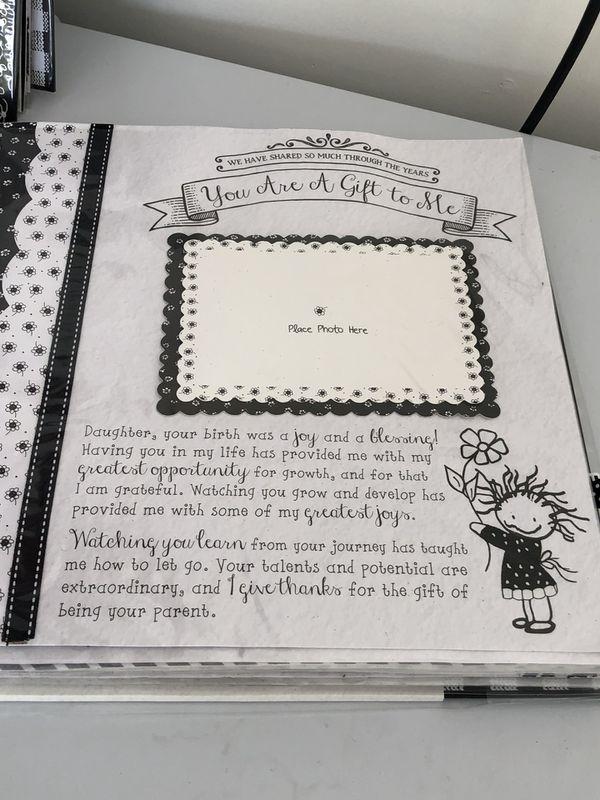 dd2ddfa2c820 Daughter Scrap Book-new never used (Arts   Crafts) in Elk Grove