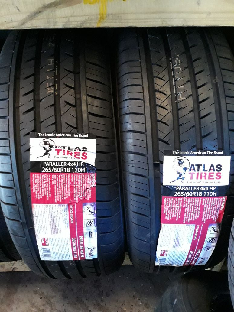 4 new tires! 265 60/18