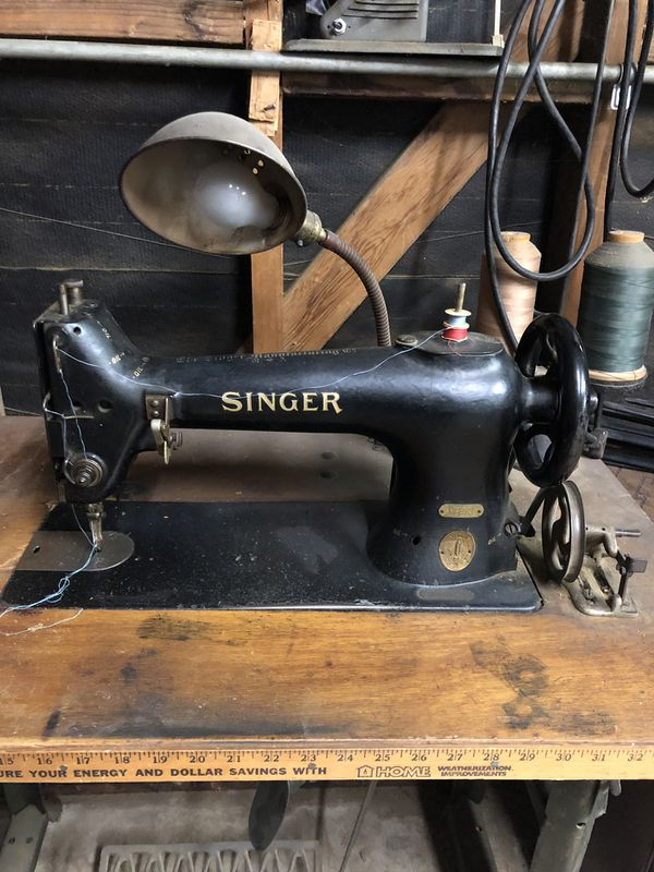Commercial antique Singer sewing machine for Sale in Los Angeles, CA -  OfferUp