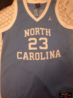 huge discount e84f4 5c8f7 Jordan 23 North Carolina jersey for Sale in Arlington, WA ...