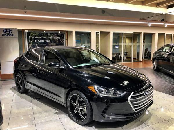 "Honda Crv Lease >> 2018 Hyundai Elantra SE   18"" Black Ruff Rims   $1,500 DOWN for Sale in Miami, FL - OfferUp"
