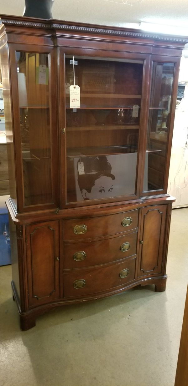 Antique China Cabinet Relisted Lower Price 2811 E Bell Rd In The Front Building At J K Furniture We Are Another Time Around