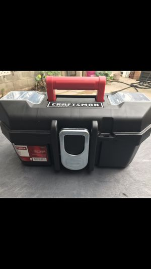 Photo CRAFTSMAN 13-IN WIDE TOOL BOX WITH TRAY 📦 BRAND NEW ((NUEVA))$12