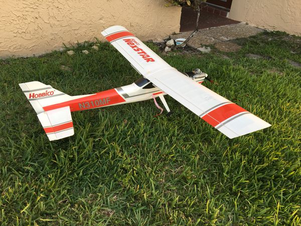 RC Gas Hobbico Nexstar Airplane 70 in wingspan for Sale in Plantation, FL -  OfferUp