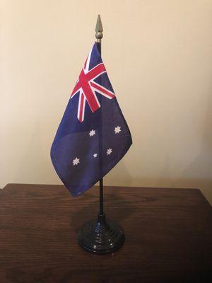 Australia Desk Flag for Sale in Centreville, VA