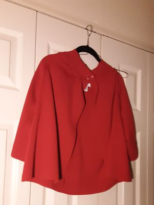 Size large ladies dress barn red cape. for Sale in Suitland, MD