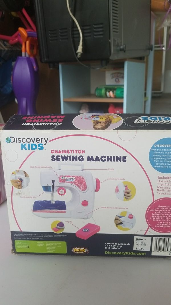 Discovery Kids Sewing Machine For Sale In Weston FL OfferUp Custom Discovery Kids Sewing Machine