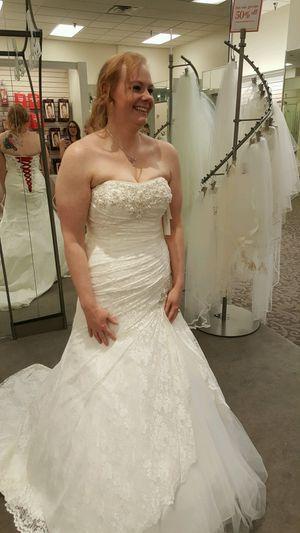 Size 14 Wedding Dress For In Spencer Ok