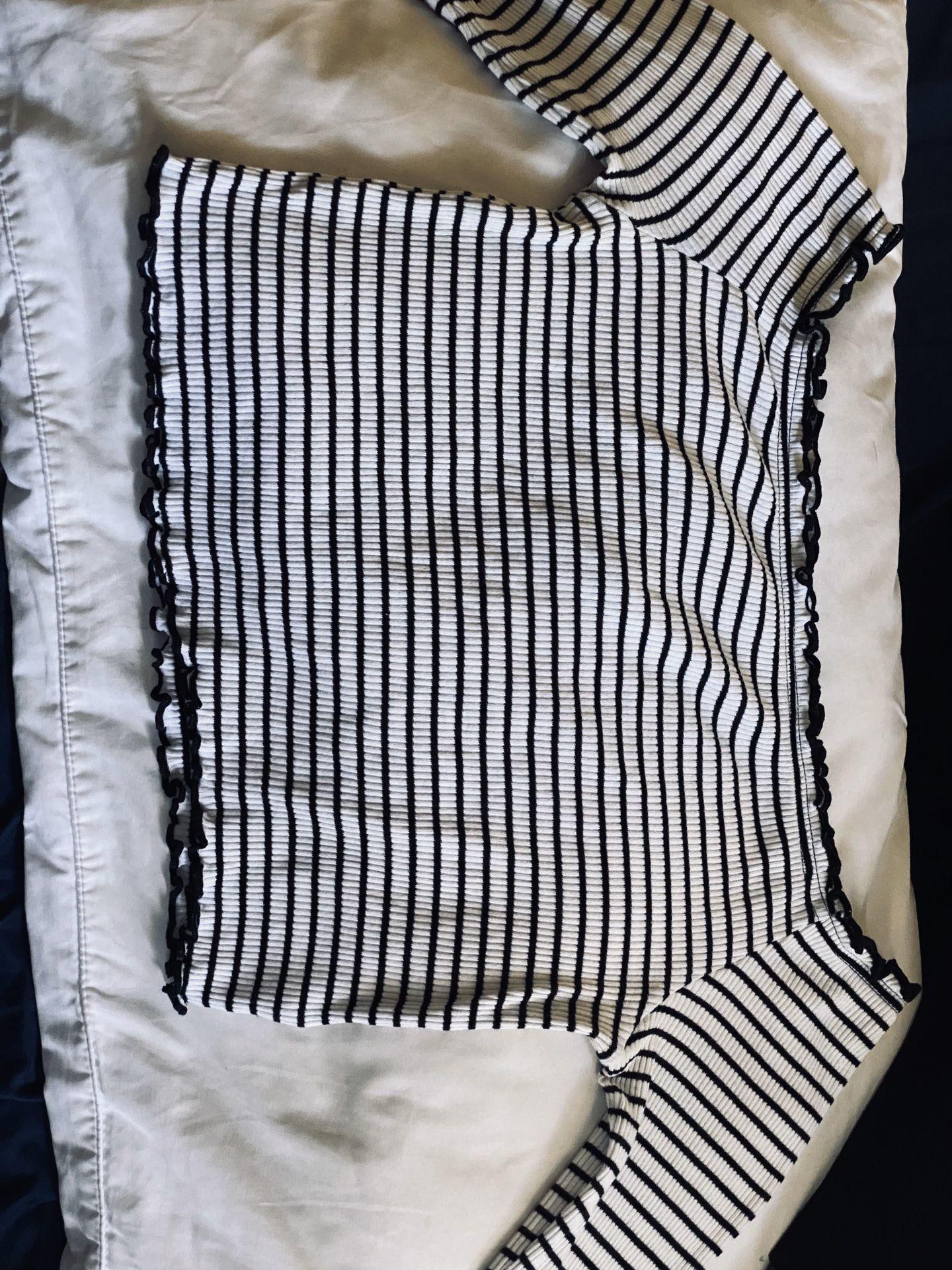 Black & white shirt